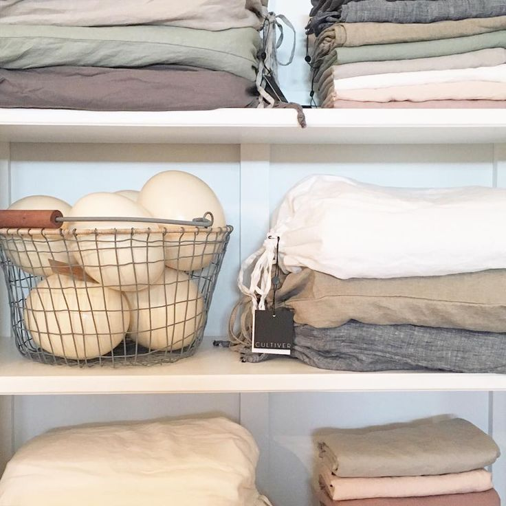 Cultiver Linen sitting pretty on the shelves of High Street Trading Co. in Strathalbyn, South Australia. #linen #cultivergoods #ostricheggs #baskets #cultiverlinen #decorate #frenchlinen