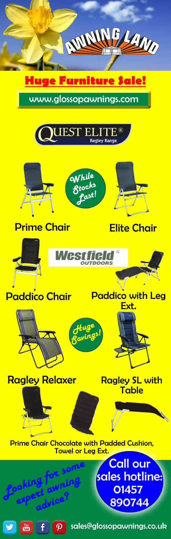Amazing Sales Offers on @QuestLeisure Leisure furniture while stocks last!!