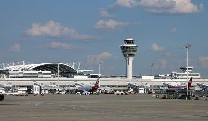 "Munich Airport Munich Airport (IATA: MUC, ICAO: EDDM), German: Flughafen München ""Franz Josef Strauß"", is a major international airport near Munich, the capital of Bavaria. It is the... #Attraction #Landmark  #Backpackers #Hostelman #Travel #Landmark"