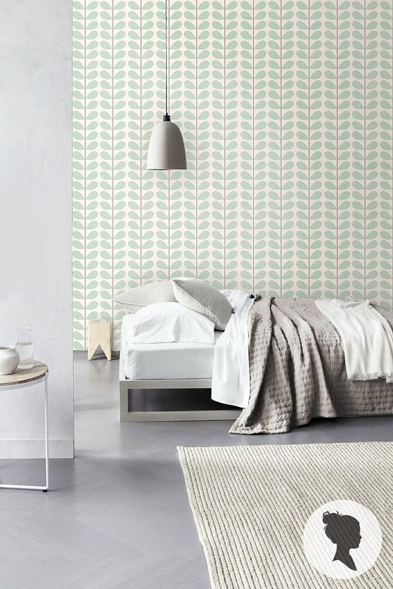 Leaf Pattern Self Adhesive Vinyl Wallpaper D001 by Livettes, $34.00