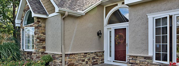 17 Best Images About Stucco Stone Combos On Pinterest