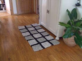 BIMAS idésida: Virka och sticka matta av trasor