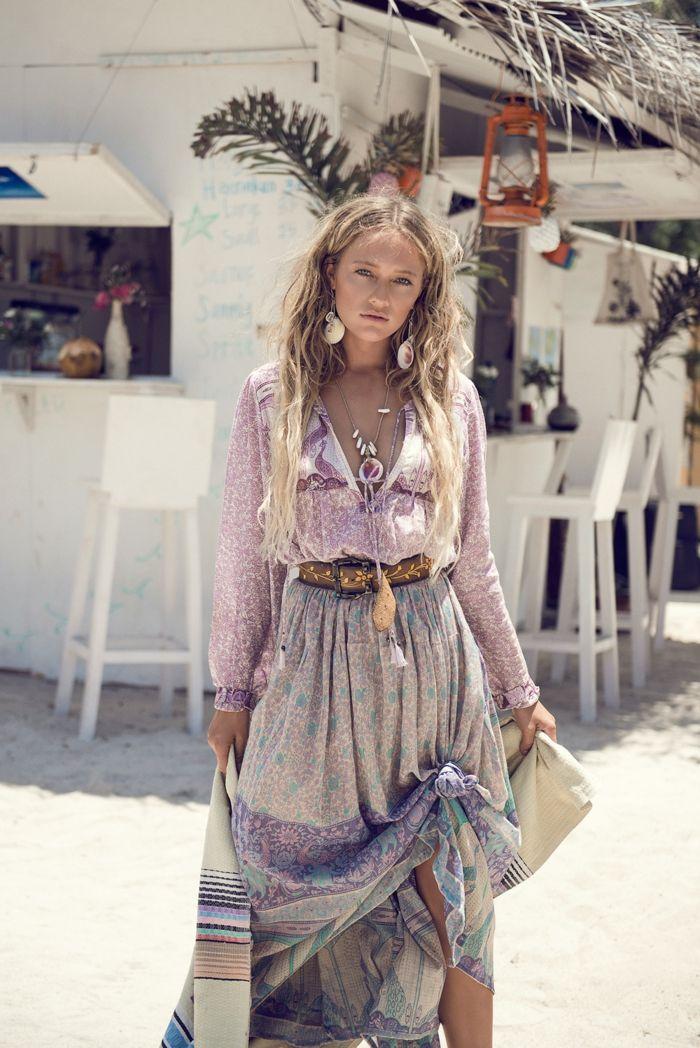 Robe longue bohème : idées de looks à adopter pour l'été