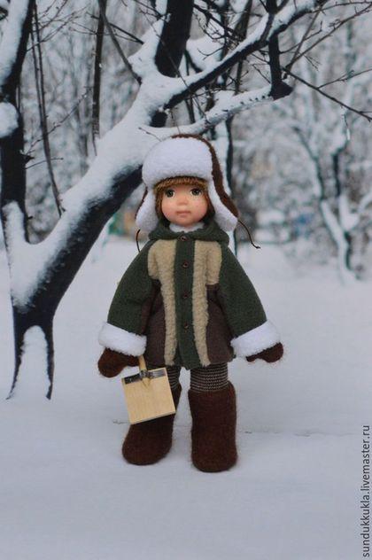 Коллекционные куклы ручной работы. Кукла из полимерной глины Тимоша. Тамара…