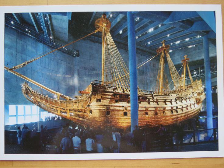 the Vasa ship, Stockholm, Sweden