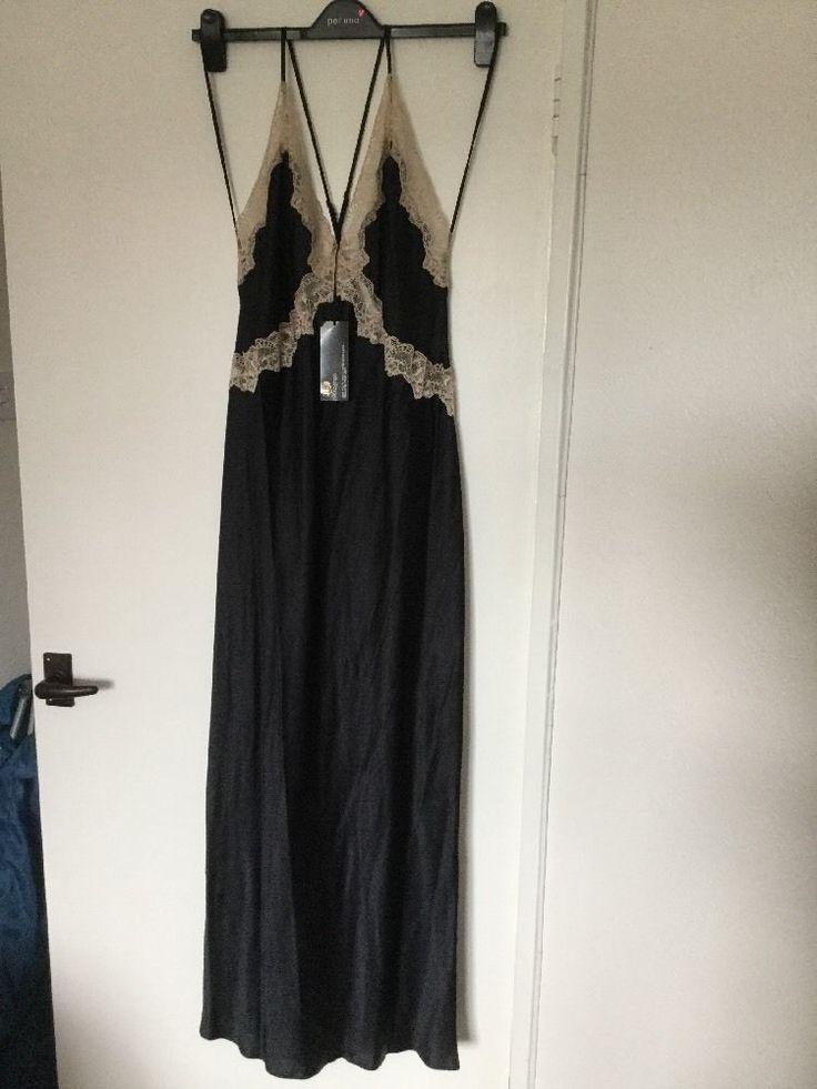 M&S ROSIE FOR AUTOGRAPH 100%SILK FULL LENGTH Ladies Nightdress UK20 EU48 BNWT BM