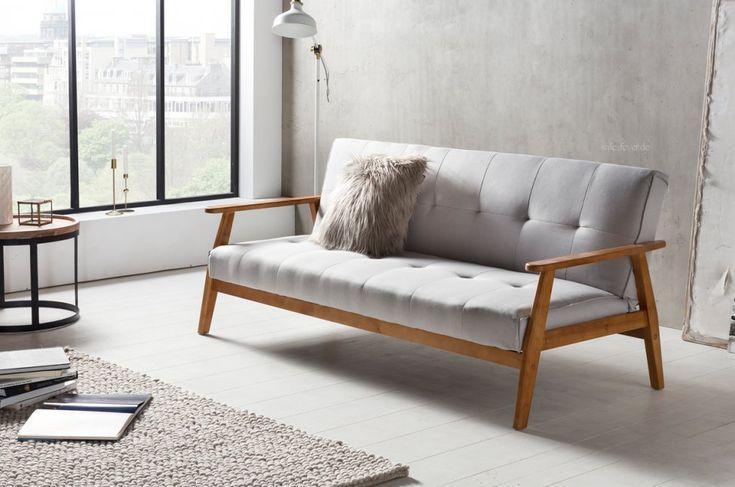 Das Design Schlafsofa Dundal Im Skandinavischen Modernen Stil
