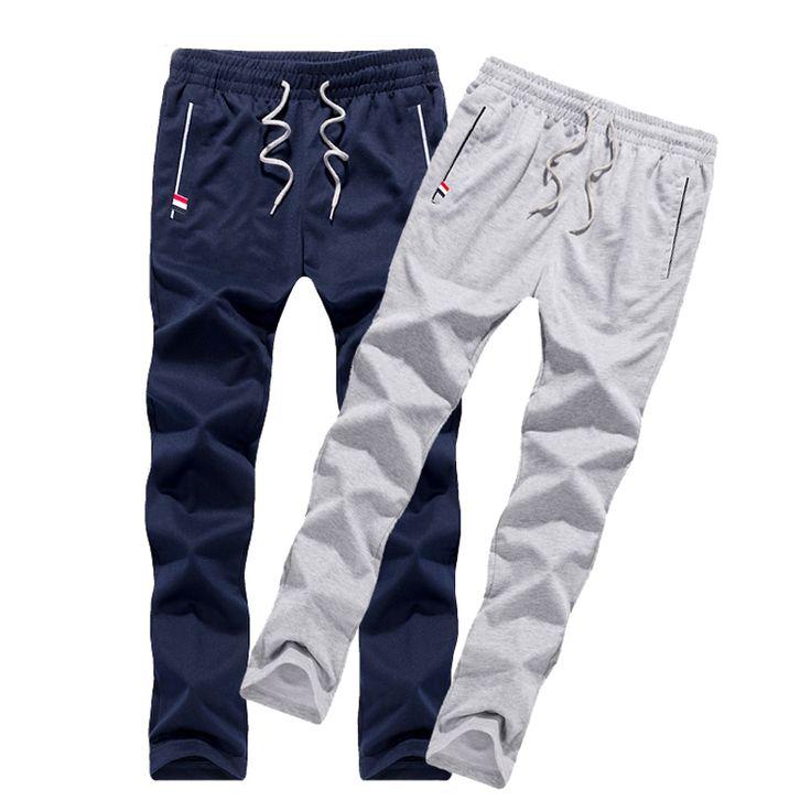 Pantalones de los hombres adolescente pantalones 2017 nueva primavera delgada masculina casual pantalones rectos de salud barato estudiante más el tamaño 4XL 5XL 6XL