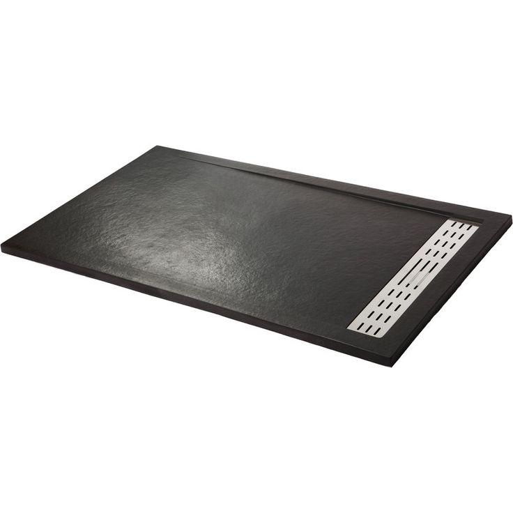 Receveur de douche extra plat PREMIUM Noir graphite Ral 9011 - NA0331 - Plomberie sanitaire chauffage