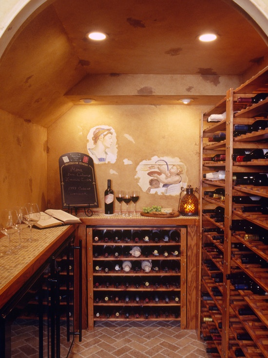 41 best wine cellars images on pinterest