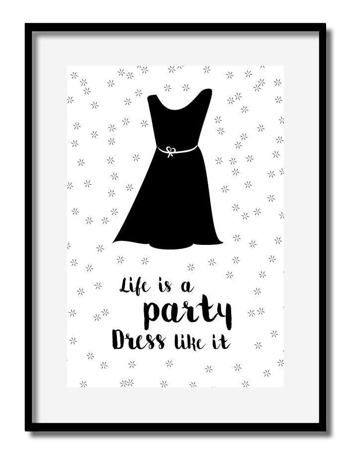 Een persoonlijke favoriet uit mijn Etsy shop https://www.etsy.com/nl/listing/479752960/poster-printable-life-is-a-party-feest