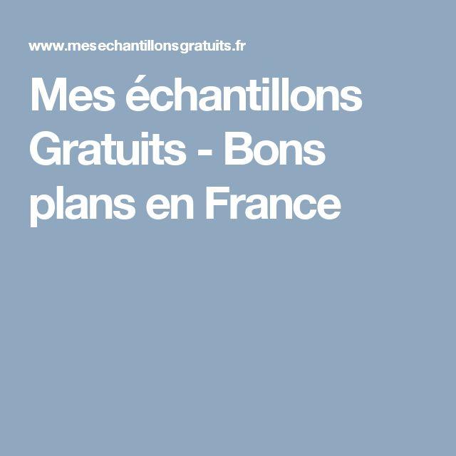 Mes échantillons Gratuits - Bons plans en France