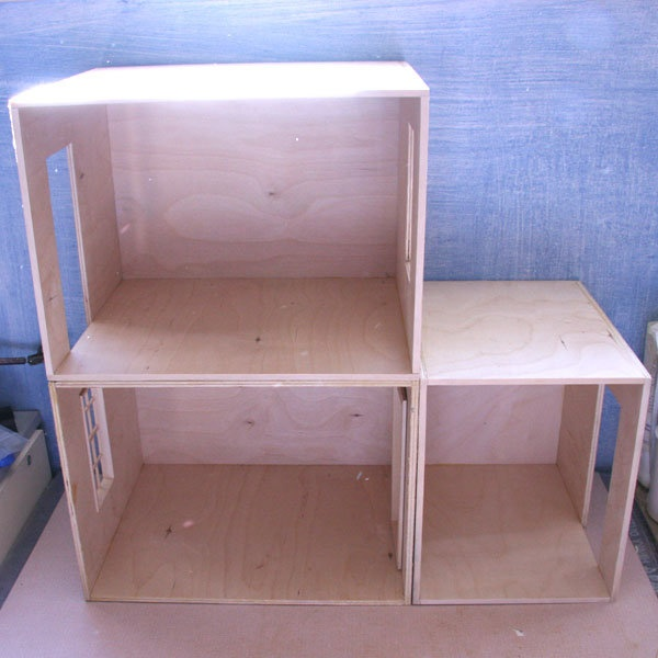 Make a Simple Baltic Birch Roombox - Make a Dolls House Roombox - Free Plans for a Dollhouse Roombox