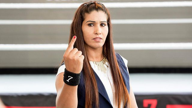 Credit :- WWE.COM   Kavita Devi , former Indian powerlifter and South Asian Games gold medalist is creating history to be the first I...