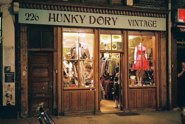 Hunky Dory Vintage 226 Brick Lane Shoreditch London