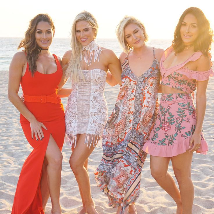 Total Divas On The Beach For Lana's Wedding  #Lana #WWE #TotalDivas…
