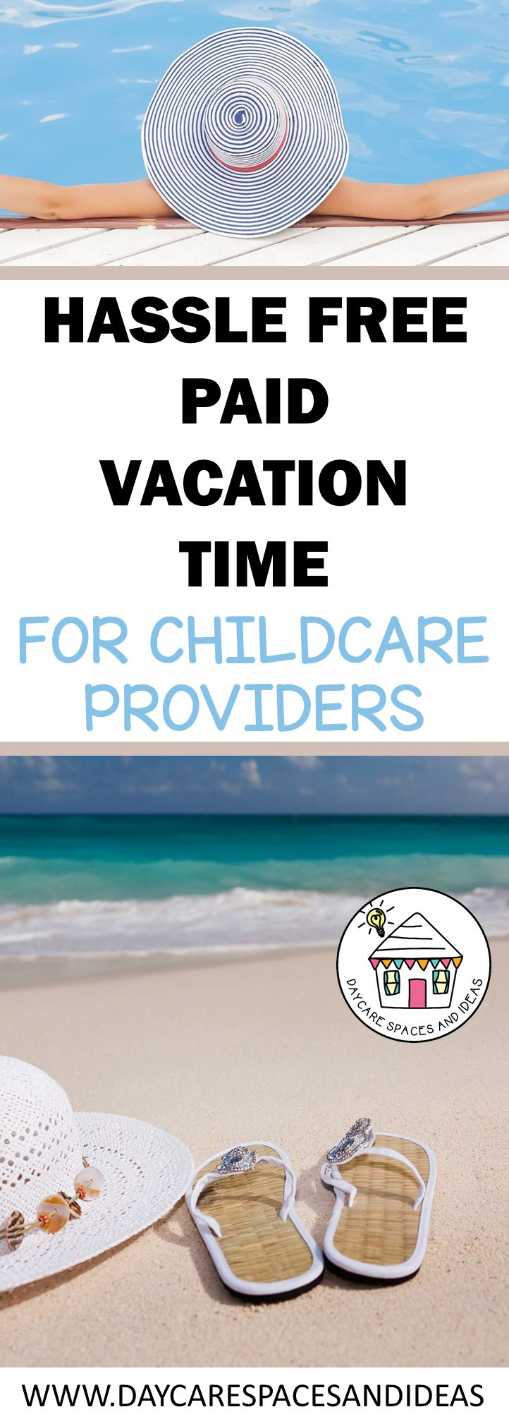 Daycare providers deserve paid time off too!