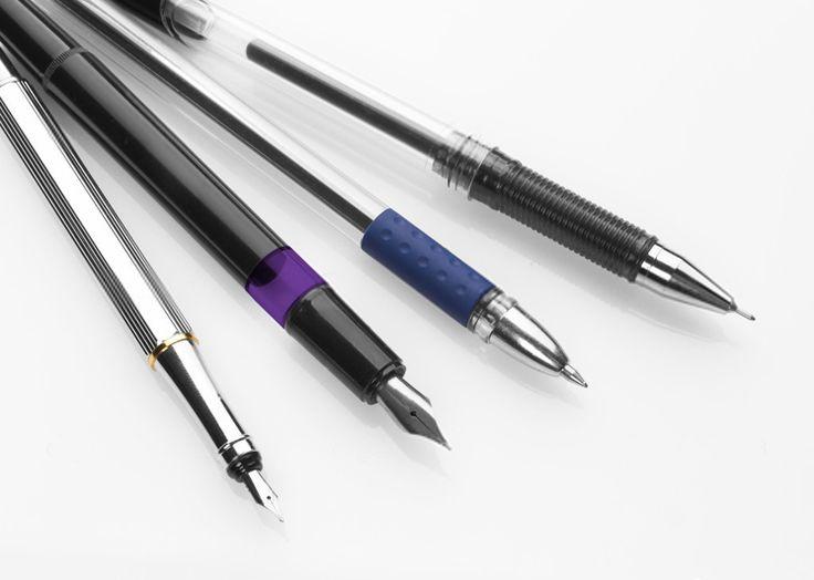 Choisir le stylo parfait—Différents types de stylos à papeterie