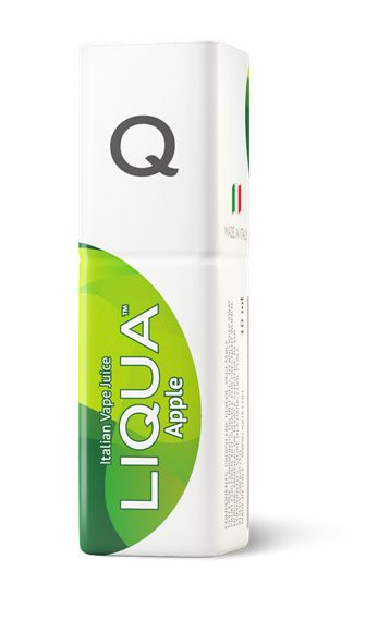 LIQUA Q Apple is a truly fabulous flavour which tastes of freshly ripened American Red Delicious apples. A well balanced flavour with a lovely sweet aroma.