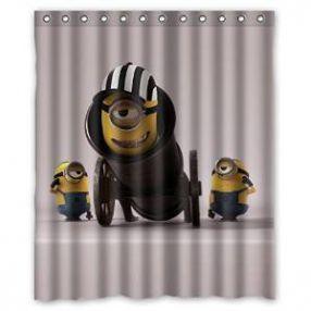 Cute Minion Shower Curtain