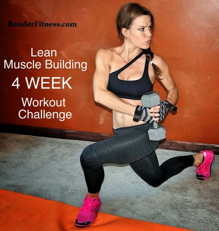 This is a 4-Week Workout Challenge focused on building lean muscle. Lean muscle mass helps improve your metabolism, give your body shape, and improve your strength.    Each Week incorporates 1-2 Da...