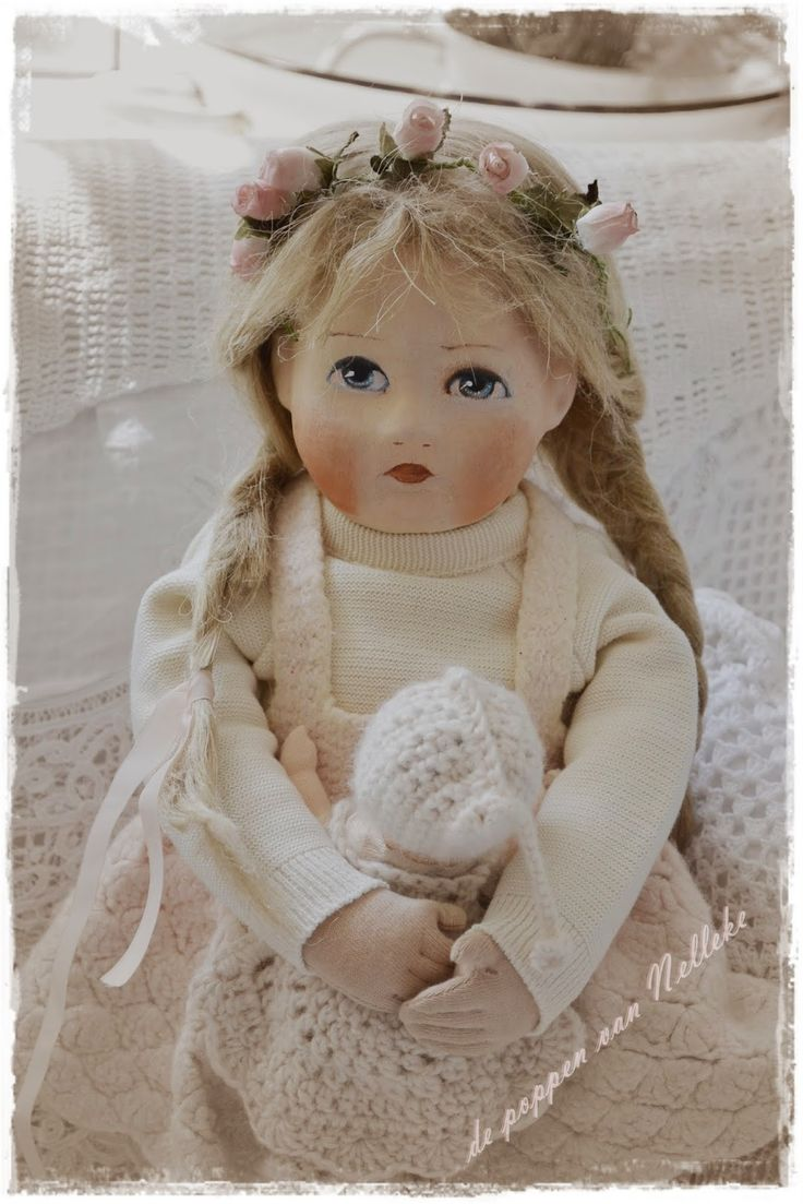 419 Best Beautiful Art Dolls Ii Images On Pinterest
