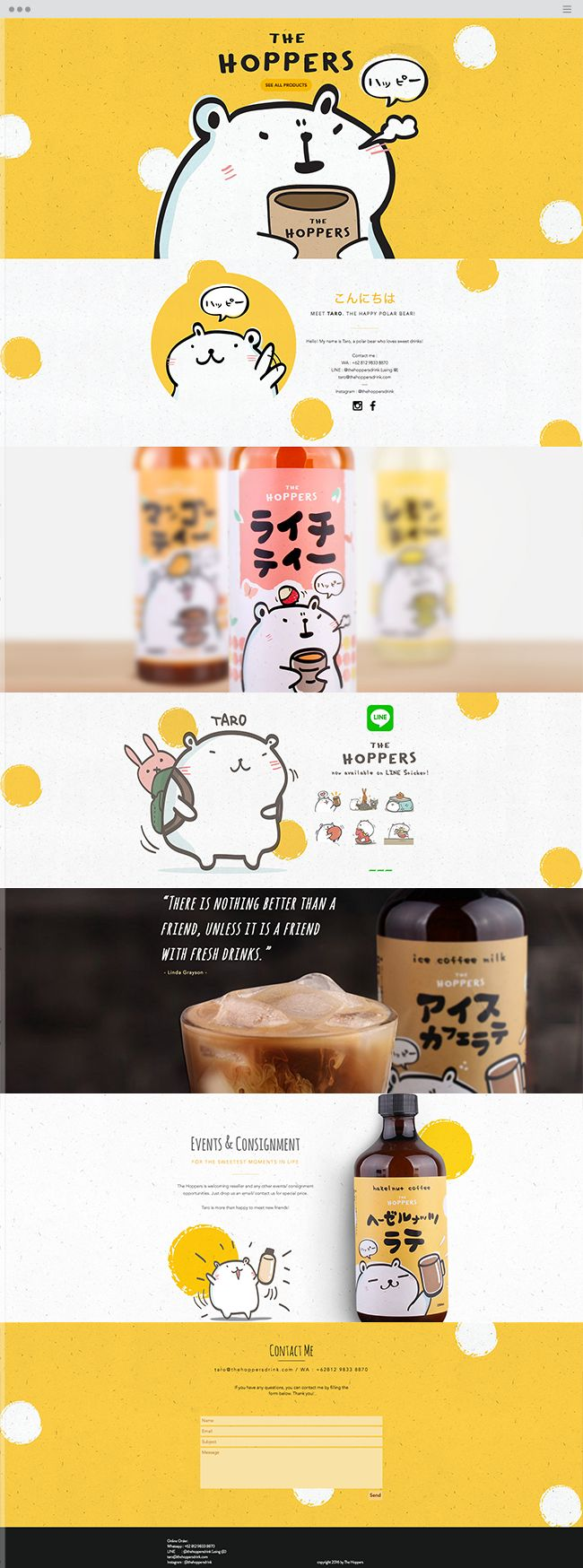 The Hoppers Drink | Unique Coffee and Tea Bottled Drinks