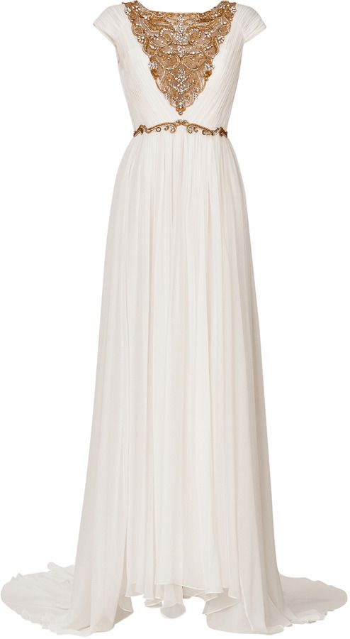 25 best ideas about grecian gown on pinterest grecian for Toga style wedding dress