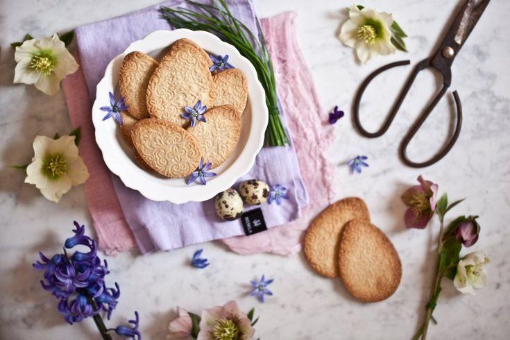Embosované velikonoční sušenky