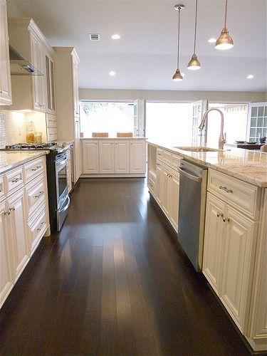 56 best images about great rooms kitchens on pinterest for Open galley kitchen with island