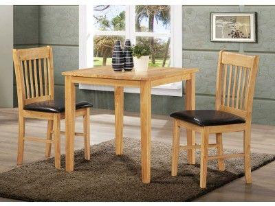 Birlea Kendall Sqaure Wooden Dining Set Set Includes Square Dining Table  And Two Chairs 146 Best Dining Set Images On Pinterest