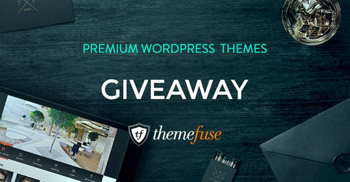 Last chance to grab a premium #Wordpress #Theme. Enter & win the #giveaway from ThemeFuse!