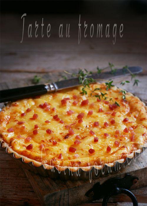Тарт с сыром -Tarte au fromage