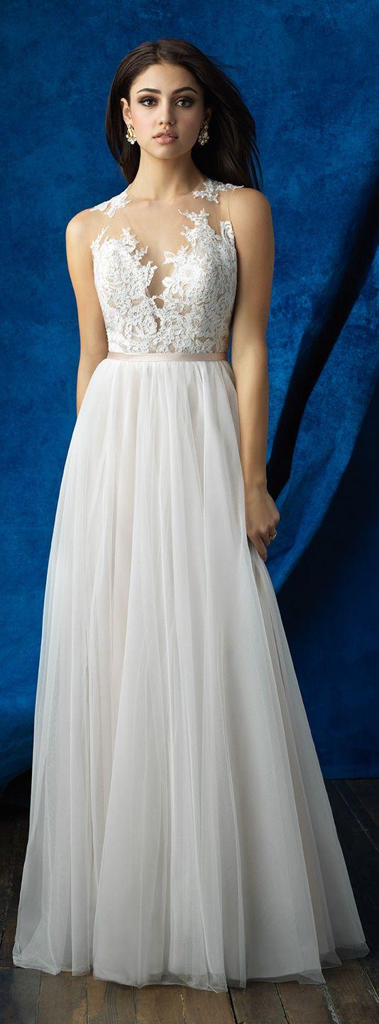 Mix and match wedding dress by Allure Bridals 2017 | @allurebridals
