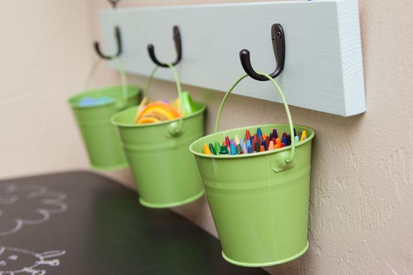 cubos para organizar los lápices
