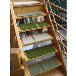 Cute Grassy Stair Tread Carpets   ALTO Steps