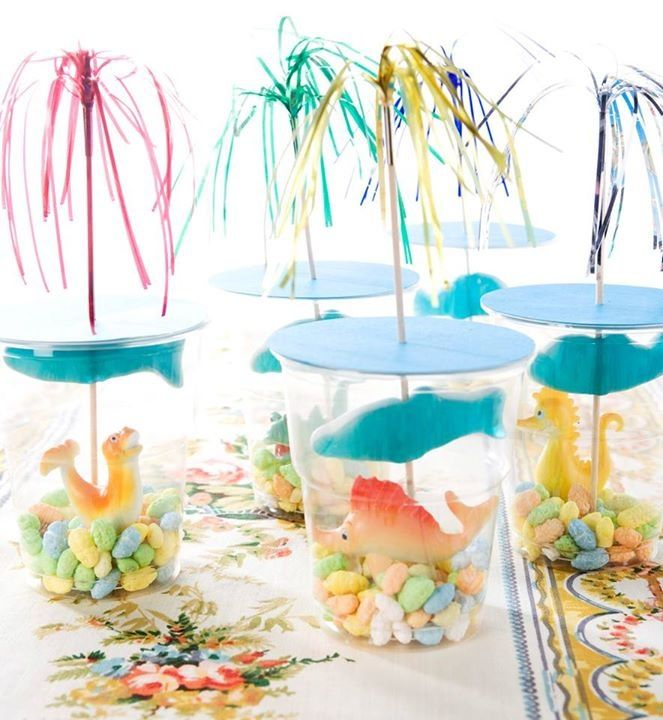 Under the sea birthday party favours!