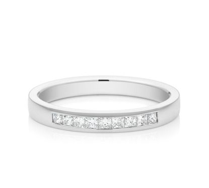 One of our stunning eternity rings. View our entire Collection of eternity rings on our website.  #mazzucchellis #diamond #diamondring #love #eternity #jewellery #engaged #forever #eternityring