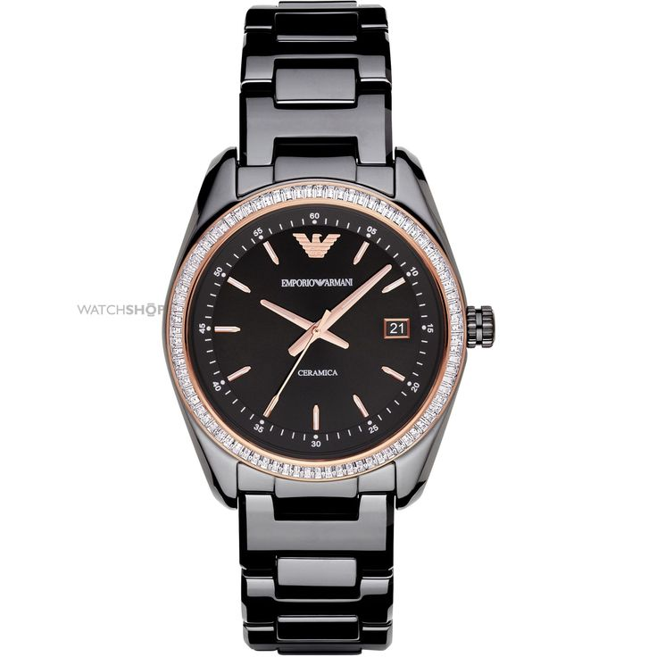 Ladies Emporio Armani Ceramic Watch AR1496