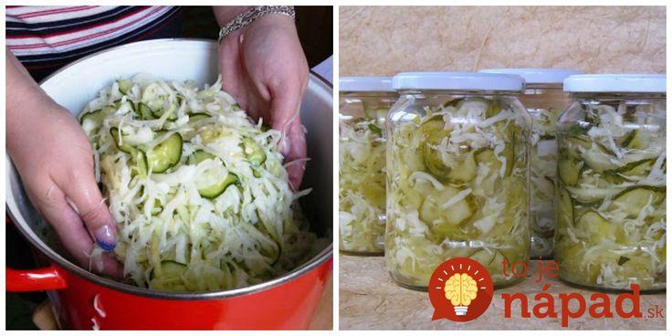 Stačí len otvoriť pohár a čerstvý šalát máte vždy k dispozícii, nech už ide o letnú grilovačku, alebo obed uprostred zimy. Ja tento zeleninový mix pripravujeme namiesto čalamády a teší sa u nás veľkej popularite.