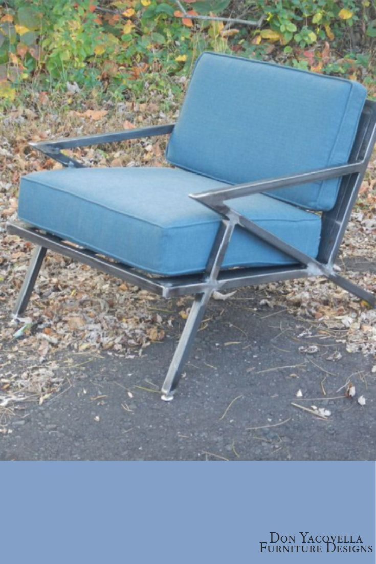 Sqaure Mid Century Modern Accent Chairs.Mid Century Modern Industrial Welded Steel Lounge Chair Z Chair