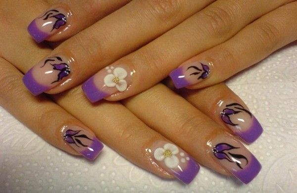 Easy to Do Nail Designs For Short Nails at Home