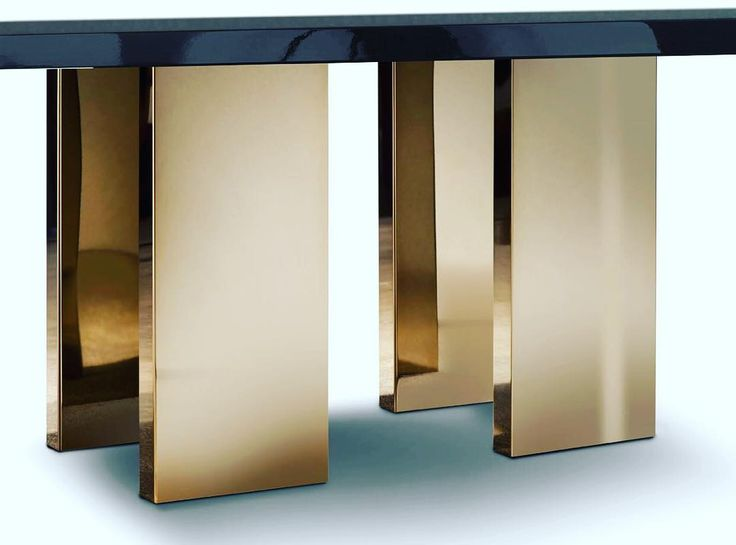 Our stunning SOHO table with the 'SUPERIOR' gold finish in high gloss - we are in love!  www.sovereigninteriors.com.au