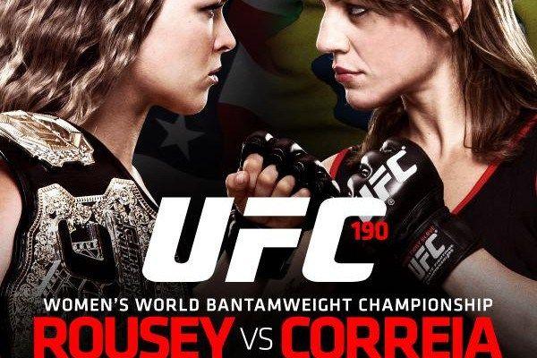 (UFC 190)Ronda Rousey vs Bethe Correia Live Stream Online Fight Coverage | NonstopTvStream