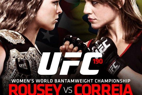 (UFC 190)Ronda Rousey vs Bethe Correia Live Stream Online Fight Coverage | NonstopTvStream