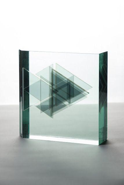 "BUDAI ZSOLT JÁNOS: Glass graphic animal ""Fish"""