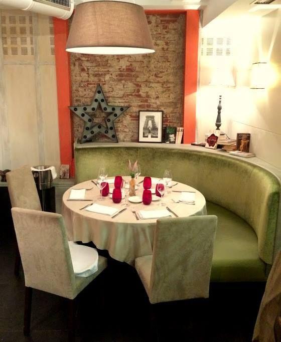 Comedor del Restaurante Aitzgorri de Donostia-San Sebastián. Un lugar acogedor y tranquilo para disfrutar de la cocina vasca.