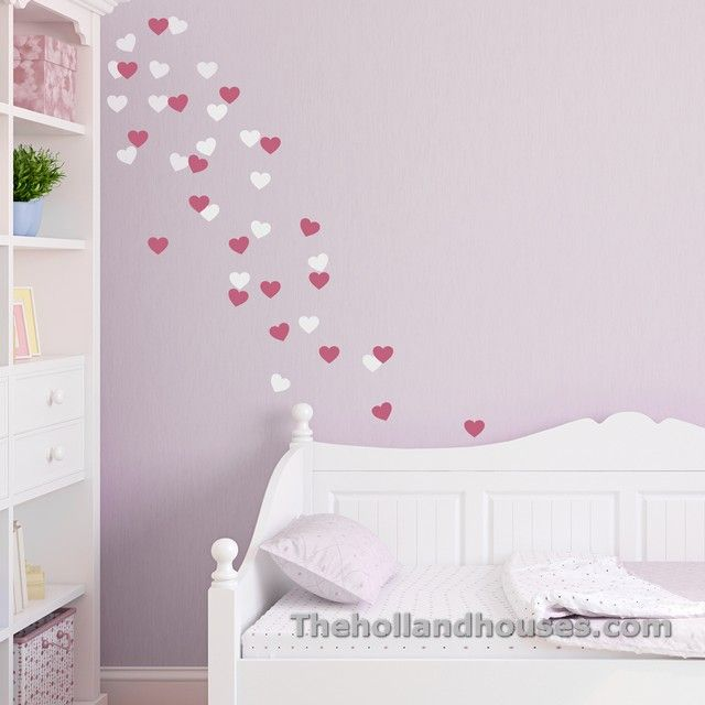 Heart Wall Stickers For Bedrooms Heart Wall Decal Wall Stickers Bedroom Heart Wall Stickers