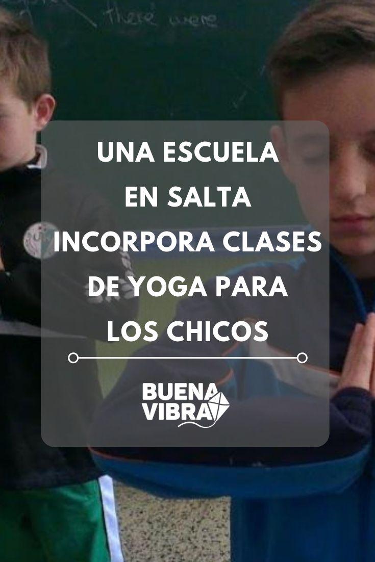 Conocé la genial iniciativa llevada a cabo en una escuela del norte argentino. Cabo, Positive Vibes, Yoga Poses, Salta, Loosing Weight, Weights