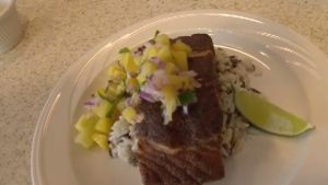 Learn how to spice up your fish, with a scrumptious Jamaican jerk salmon recipe. Click on the link for the recipe http://atlantic.ctvnews.ca/jamaican-jerk-salmon-with-mango-pineapple-salsa-1.2809980